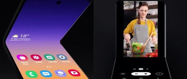 Samsung удивил мир гибким смартфоном