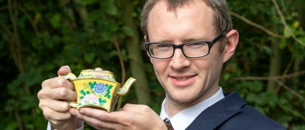 Старый чайник из гаража британца оказался императорским раритетом