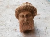 Ancient Bust of Greek God Hermes