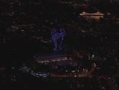 дрон шоу от Челси
