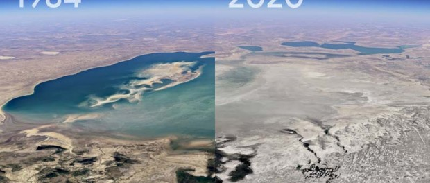 Google Earth создал 40-летнюю машину времени
